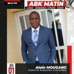 L'Expert Alain MOUGANG est l'invité d'ABK Radio