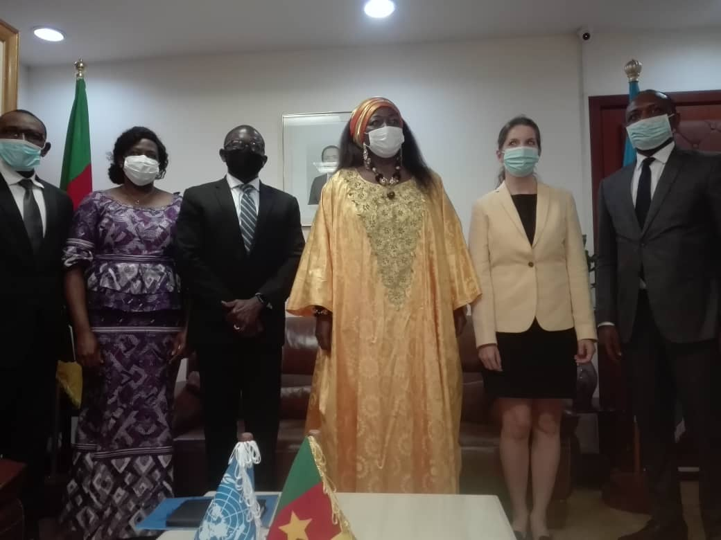 MINHDU : Audience accordée au nouveau Coordonateur Résident du Système des Nations Unies au Cameroun.