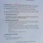 COMMUNIQUÉ IFPI SUP – Test d'admission